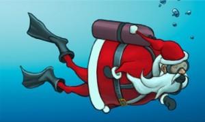 Scuba-Santa